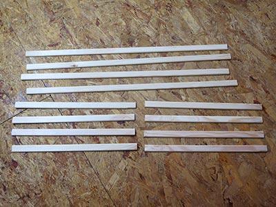 3D Box Holzleisten