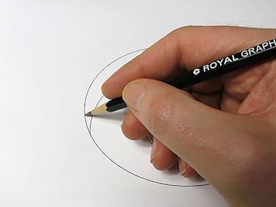 3D Loch Form nachzeichnen