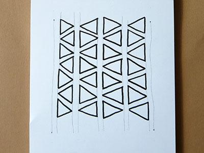 3D Muster zeichnen