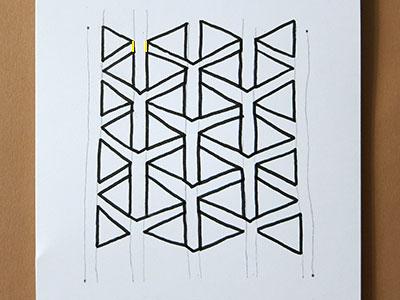 3D Muster einfach zeichnen