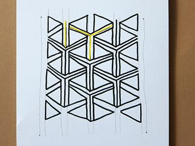 3D Muster Zeichenübung