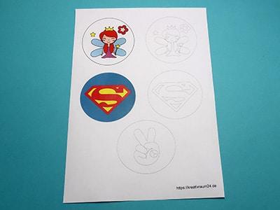 Sticker Vorlage