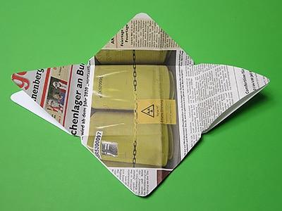 Briefumschlag ausschneiden