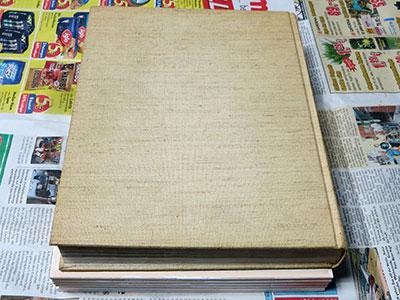 Blätter Monoprint - pressen