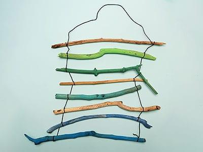 Wanddeko Zweige