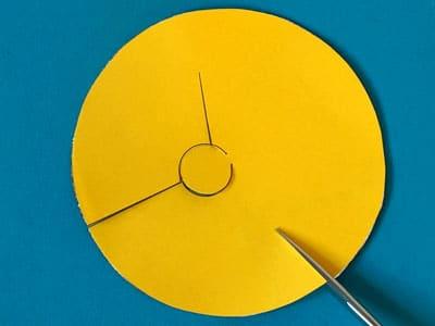 Schritt 3: Kreis einschneiden