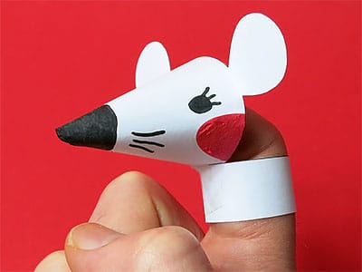 Fingerspiel Maus