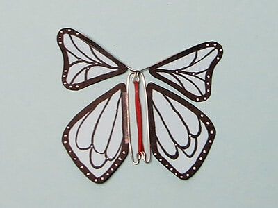 Schmetterling basteln