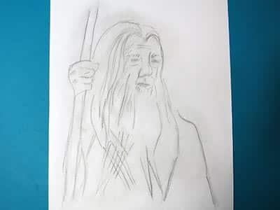 Gandalf zeichnen