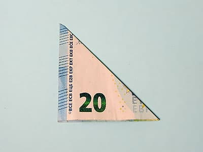 Geldsegel falten