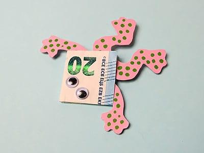 Geldgeschenk Kröten