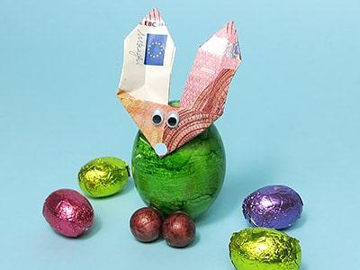 Geldgeschenk für Ostern