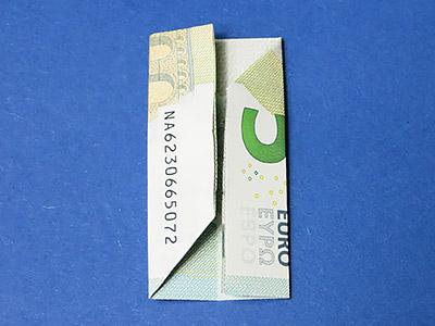 Geld Würfel falten - Schritt 7