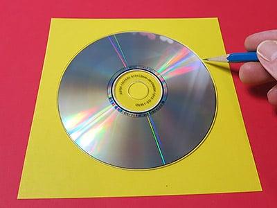 CD ausschneiden