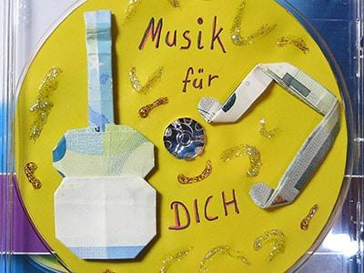CD beschriften - schmücken