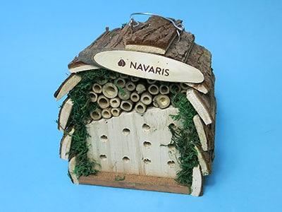Insektenhotel als Geldgeschenk