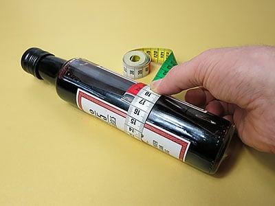 Flaschendurchmesser messen