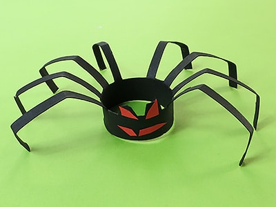 DIY Halloween Spinne