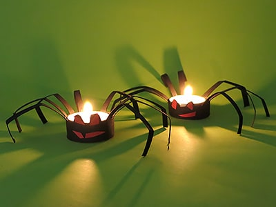 Halloween Deko Spinne Basteln Kreativraum24