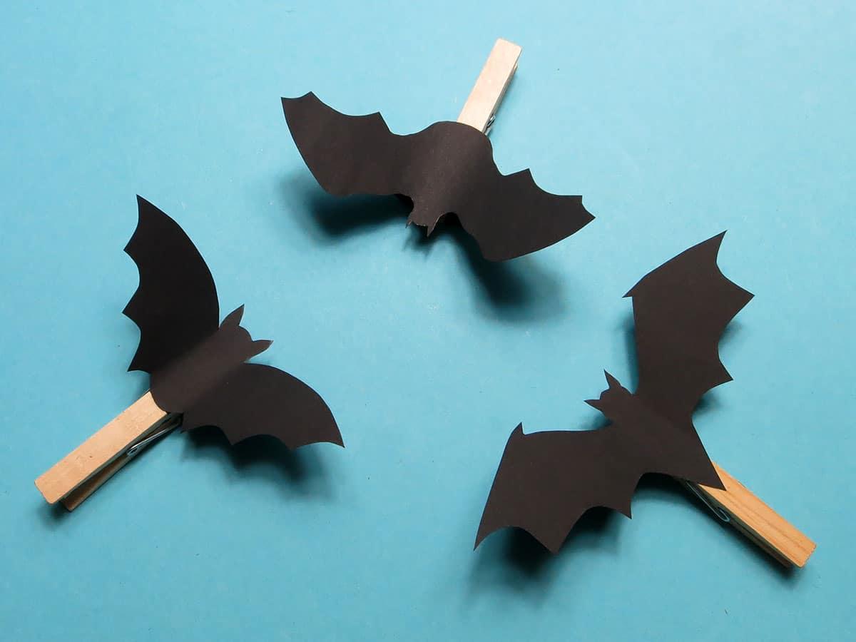 Fliegende Fledermaus Basteln Ganz Einfach Kreativraum24