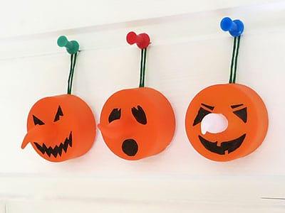 Halloween Geister basteln