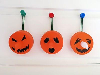Halloween Gespenster basteln