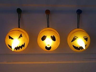 Halloween Geister Lichter