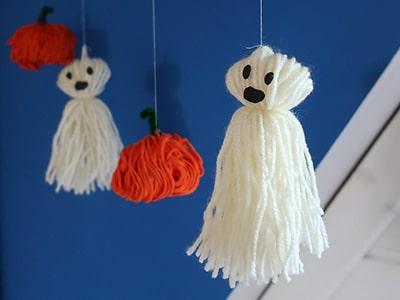 Halloween Girlande basteln