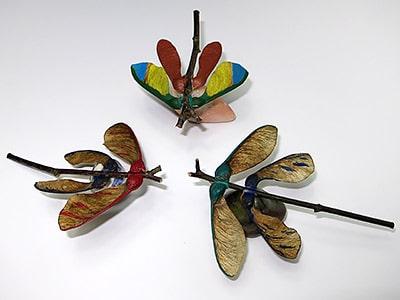Herbst basteln - Libelle