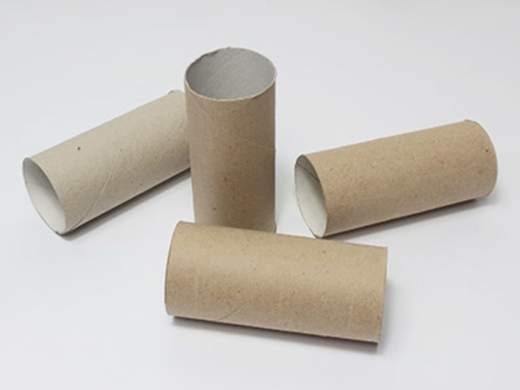 Toilettenpapierrollen zum Basteln