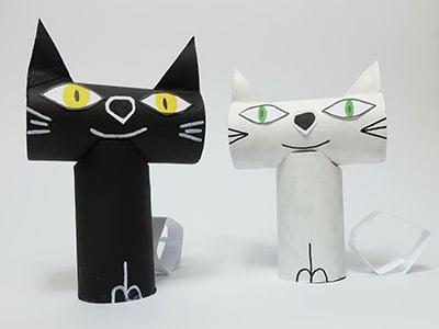 Katze basteln