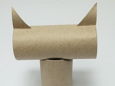 Katzenkopf ankleben