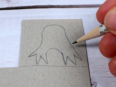 Küken-Füße zeichnen