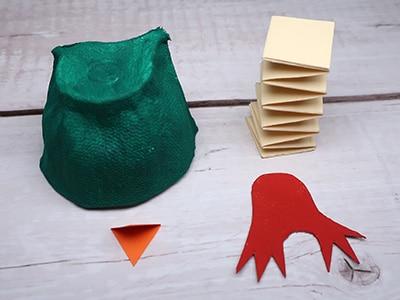 Küken basteln - Einzelteile
