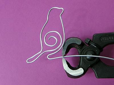 Figuren Aus Draht Selber Machen lesezeichen aus draht selber machen kreativraum24