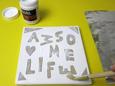 Buchstaben basteln