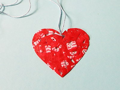 Herz Geschenkanhänger
