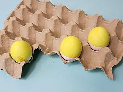 Minions Eier Köpfe