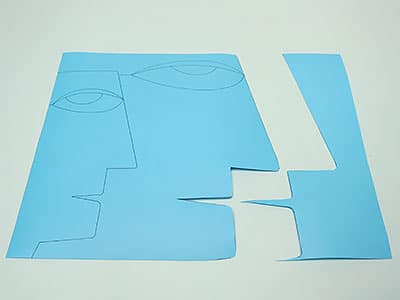 Papier Spalttechnik