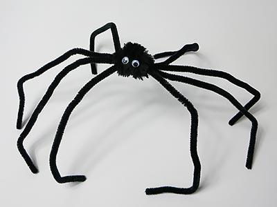 Pfeifenreiniger Spinne