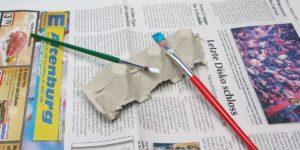DIY Pinsel Halter