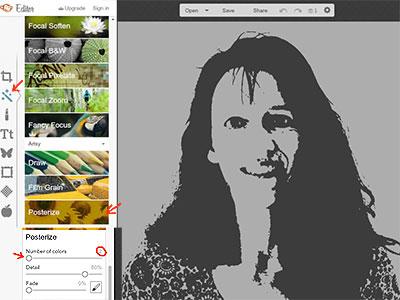 Portrait erstellen - Schritt 1