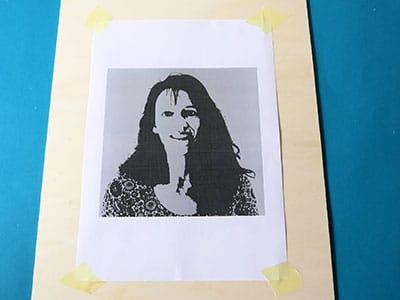 Portrait selber erstellen - Schritt 5