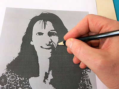 Portrait selber erstellen - Schritt 6