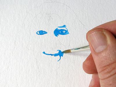 Portrait einfach malen