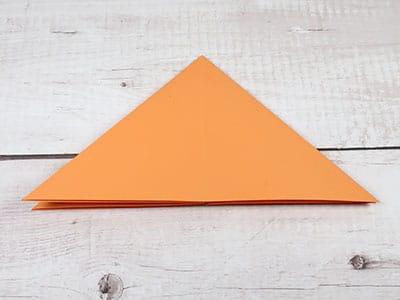 Papier Dreieck - Raketen Vorlage