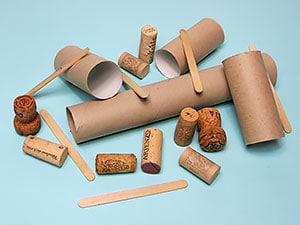 Recycling Basteln Bastelmaterialien Sammeln Kreativraum24