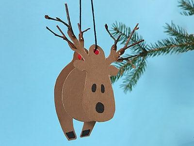 Rentier Für Weihnachten Basteln Kreativraum24