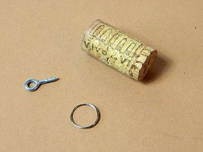 Material für Schlüsselanhänger