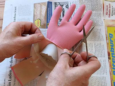 DIY Schmuckhand Schritt 11